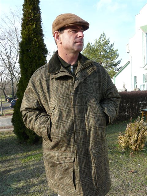 006ff4095d 7775 Gyapjú kabát, halszálkás, Beretta